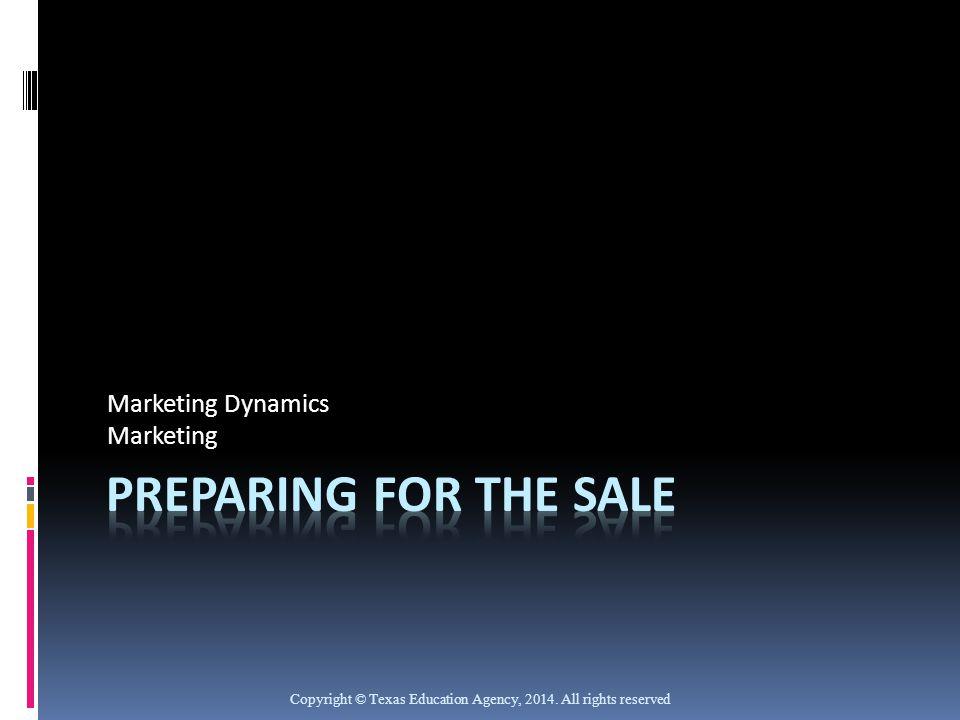 Marketing Dynamics Marketing