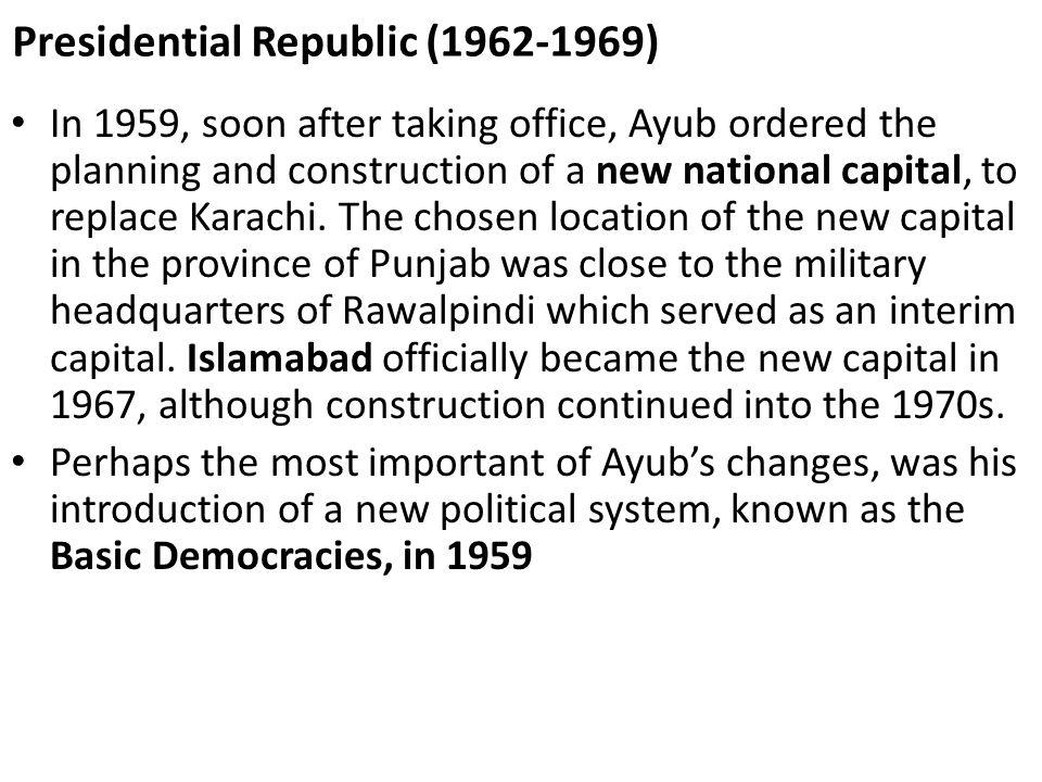Presidential Republic (1962-1969)