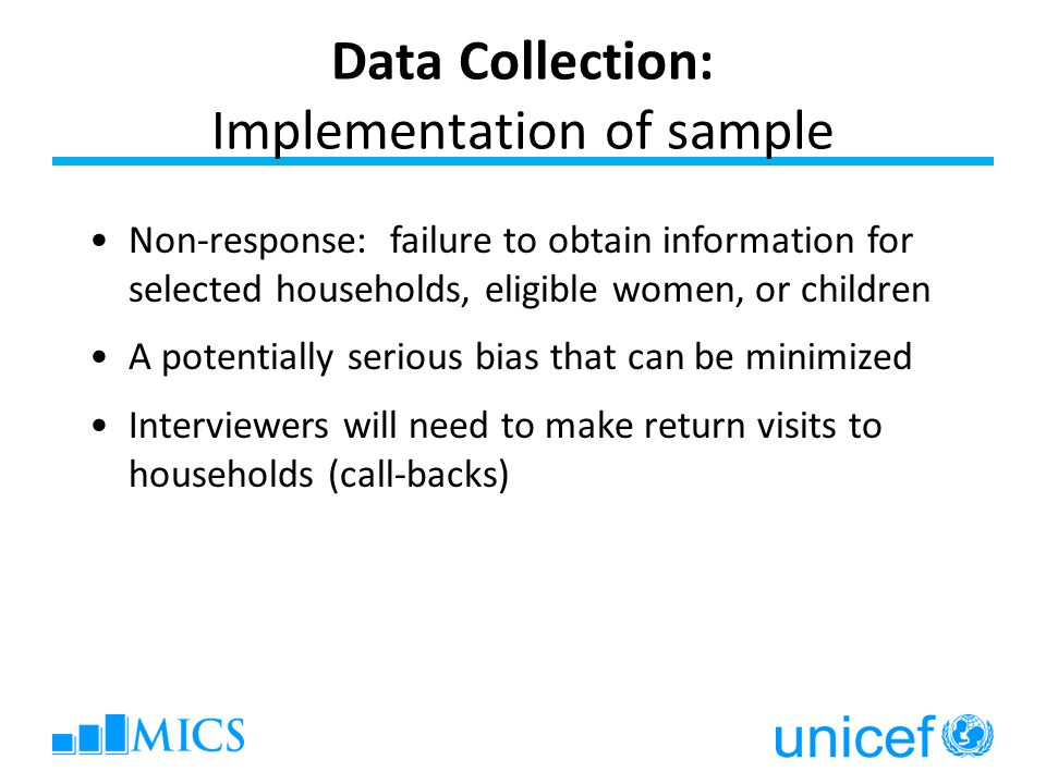 Data Collection: Implementation of sample