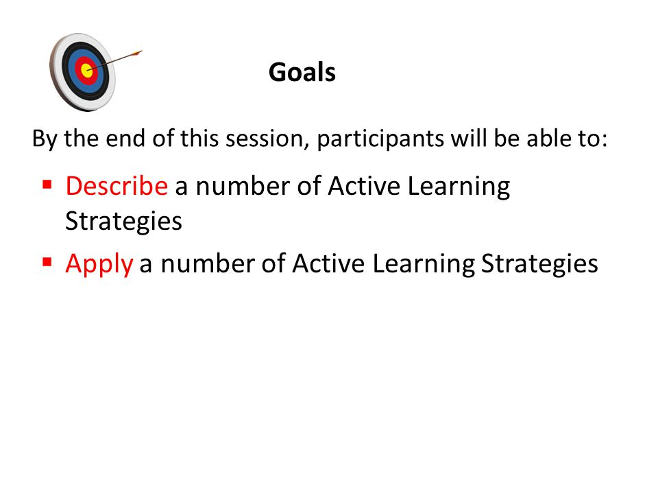 By the end of this session, participants will be able to: