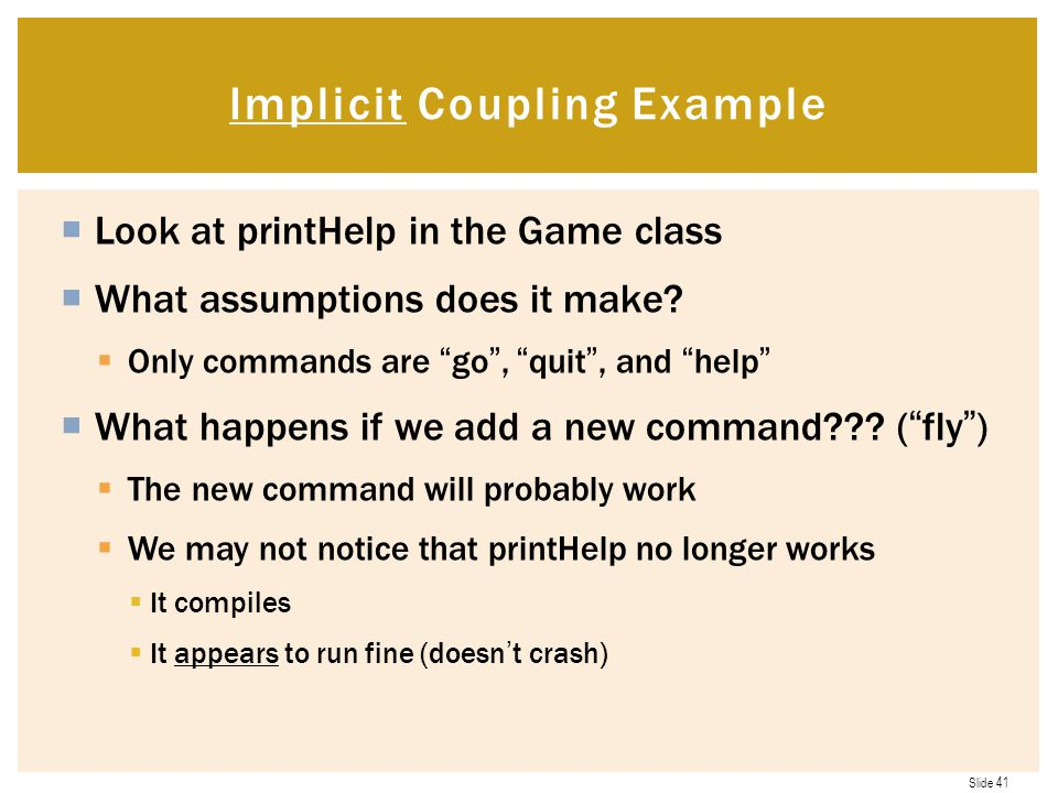 Implicit Coupling Example