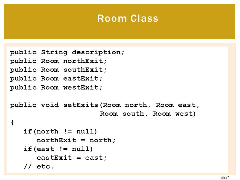 Room Class