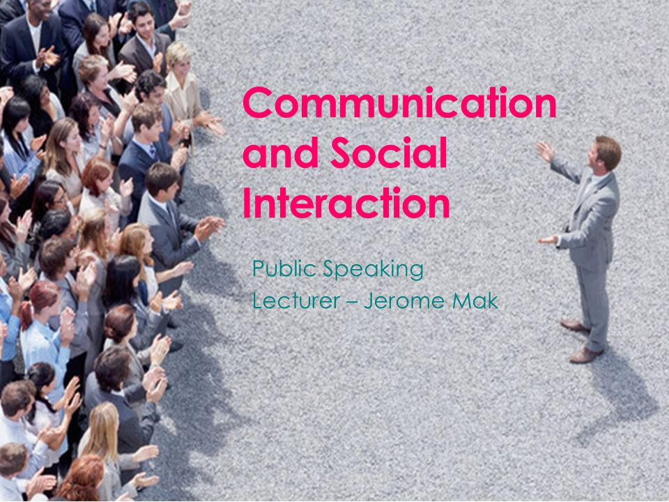 Communication and Social Interaction