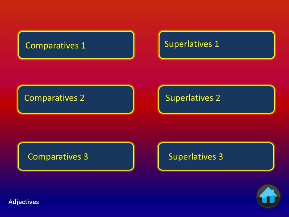 Comparatives 1 Superlatives 1 Comparatives 2 Superlatives 2