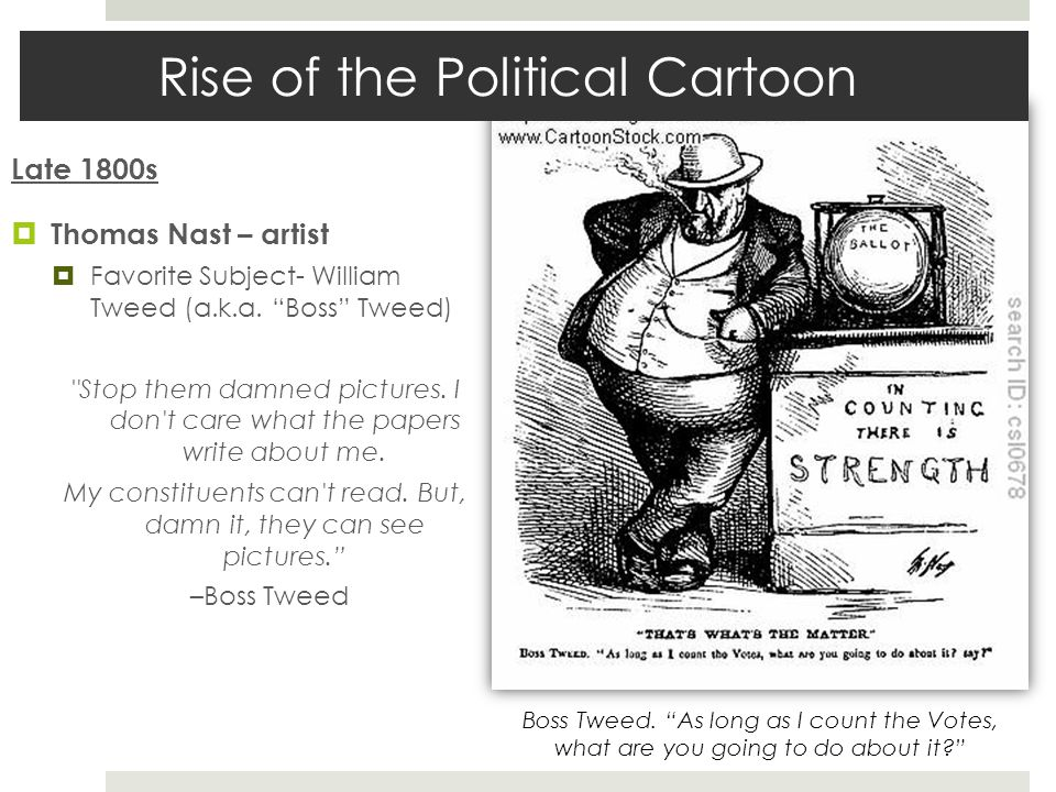 Rise of the Political Cartoon
