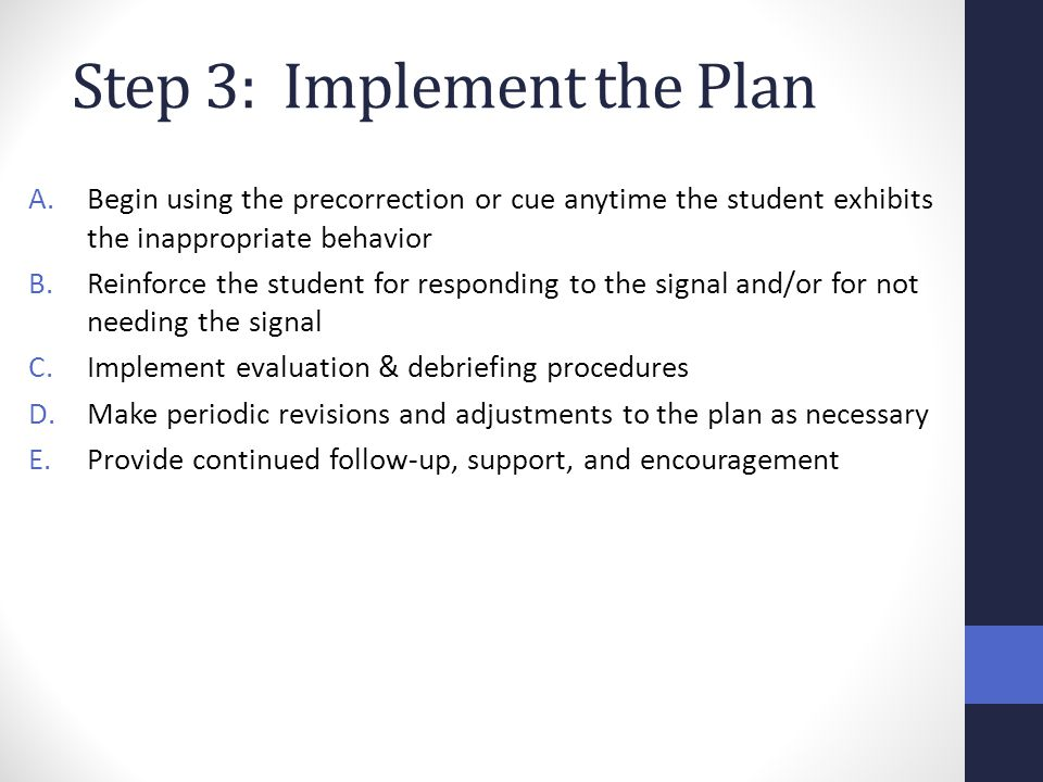 Step 3: Implement the Plan