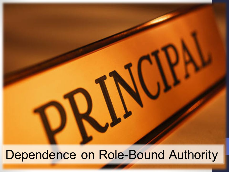 Dependence on Role-Bound Authority