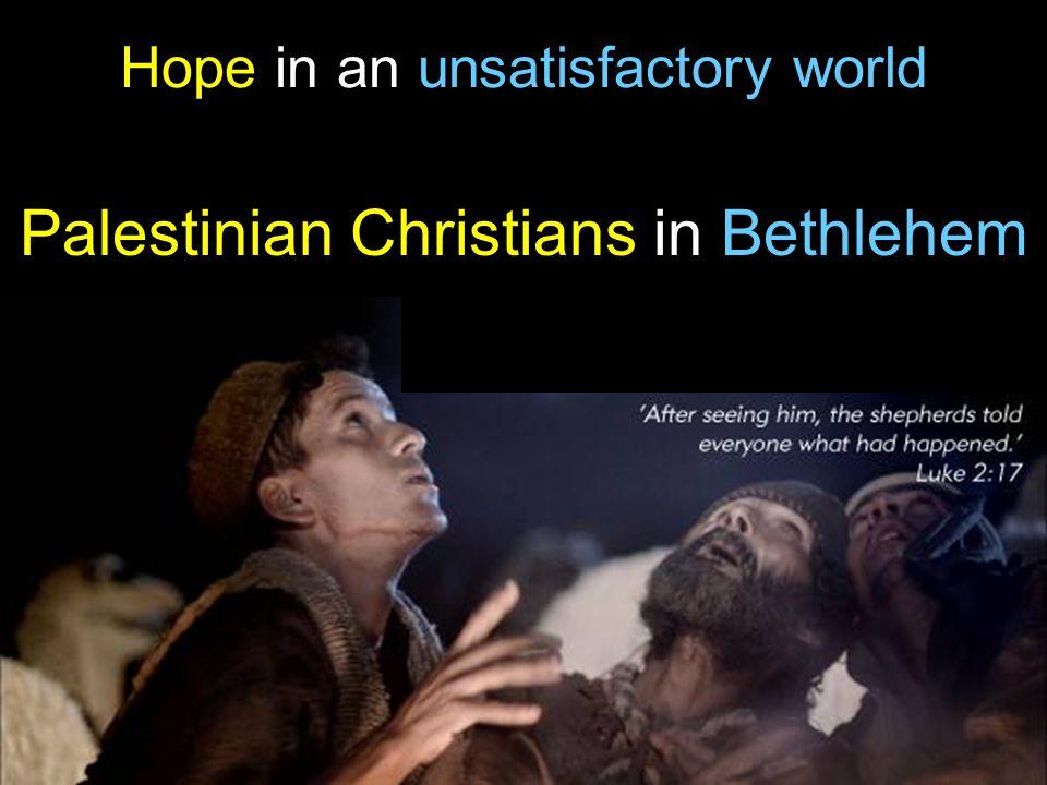 Palestinian Christians in Bethlehem
