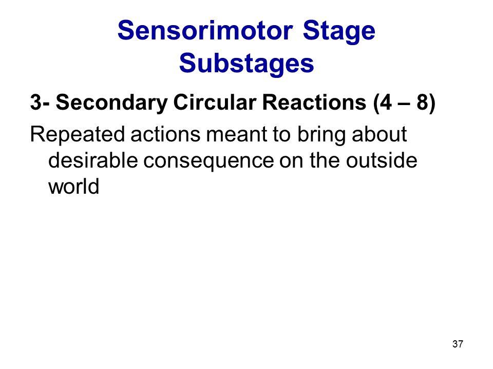 Sensorimotor Stage Substages