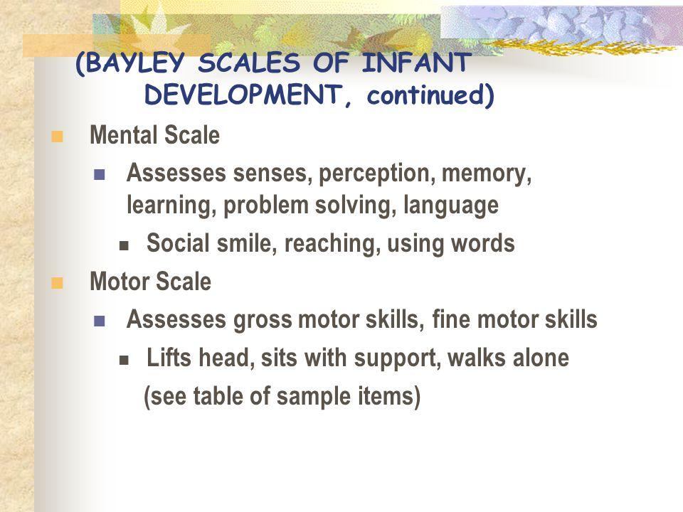 bayley mental development index - 960×720