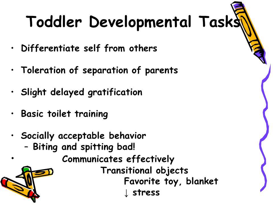 Toddler Developmental Tasks