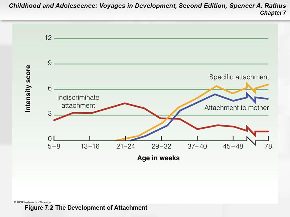 Figure 7.2 The Development of Attachment