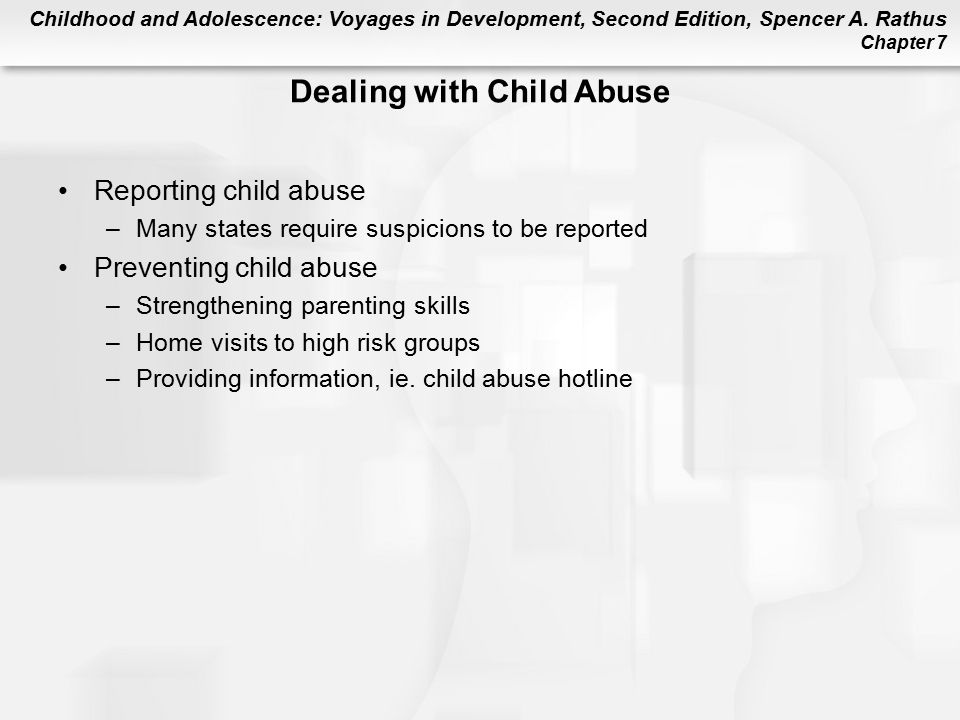 Dealing with Child Abuse