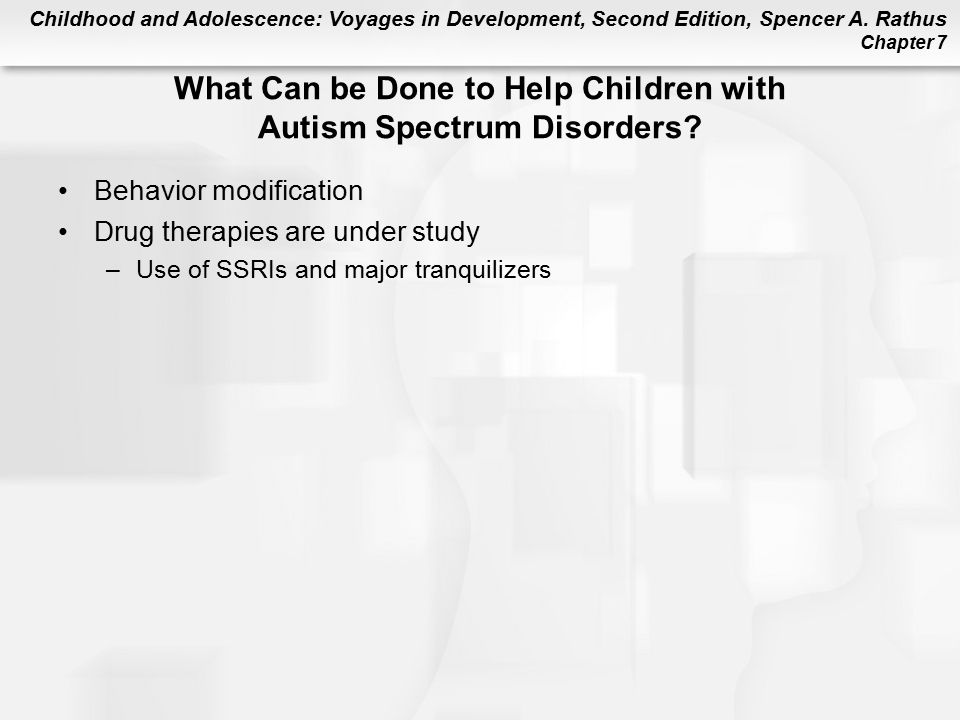 What Can be Done to Help Children with Autism Spectrum Disorders