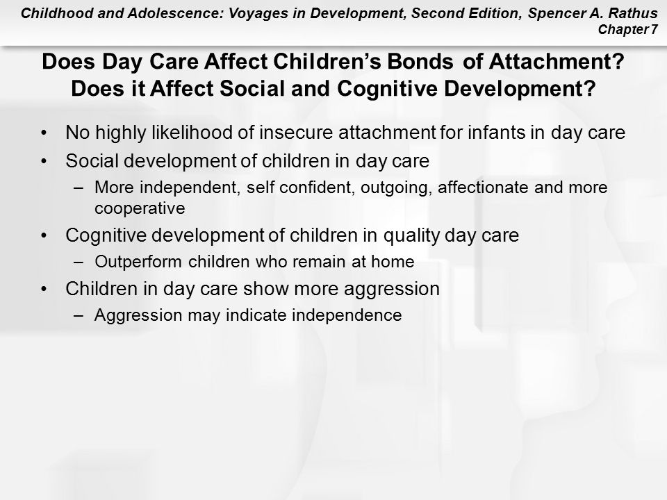 Does Day Care Affect Children's Bonds of Attachment