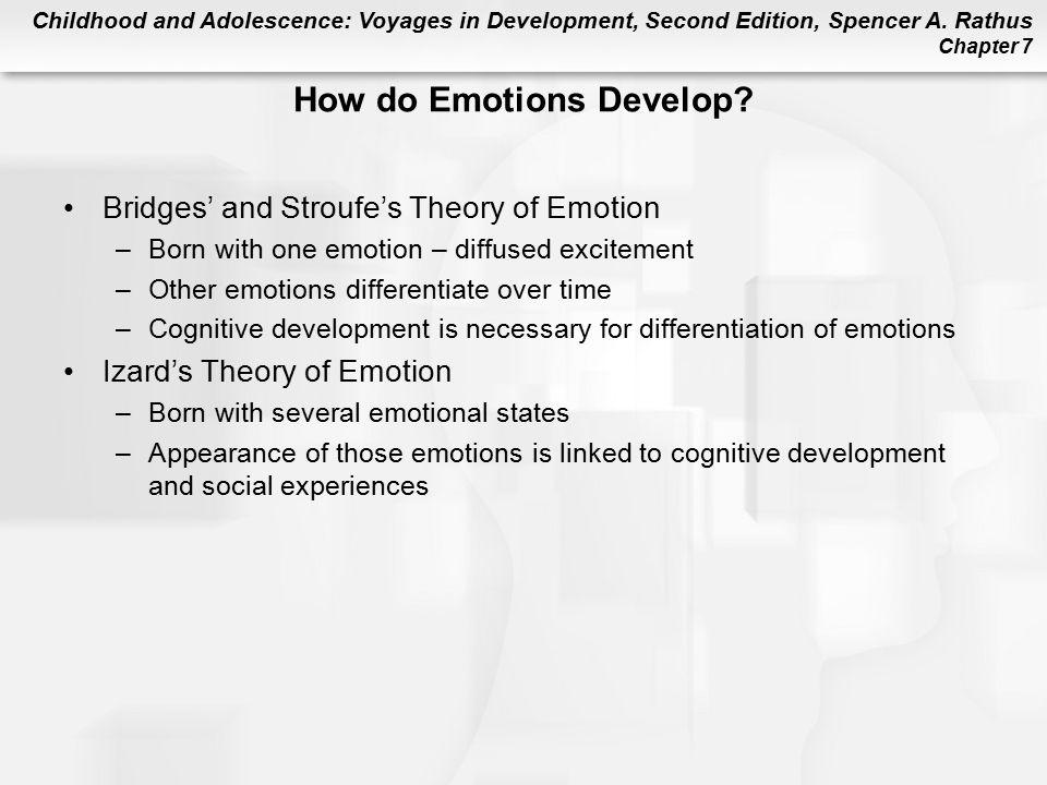How do Emotions Develop