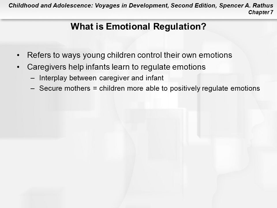 What is Emotional Regulation