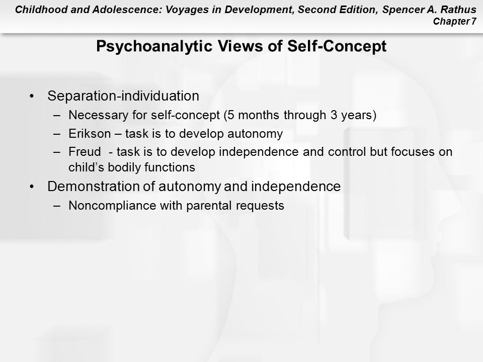 Psychoanalytic Views of Self-Concept