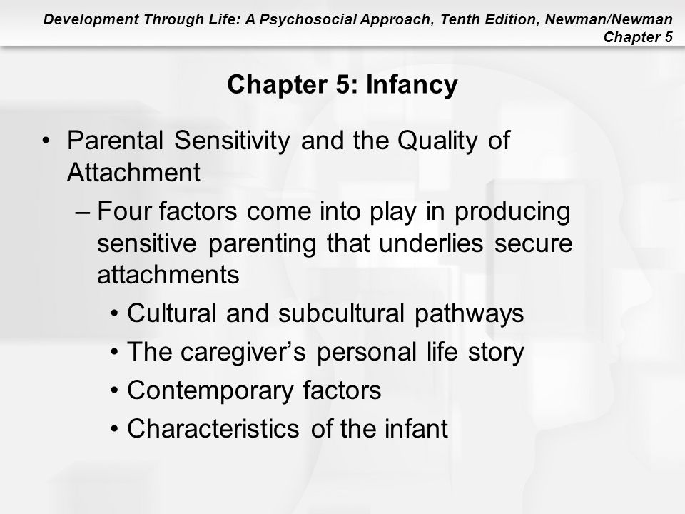 Parental Sensitivity and the Quality of Attachment