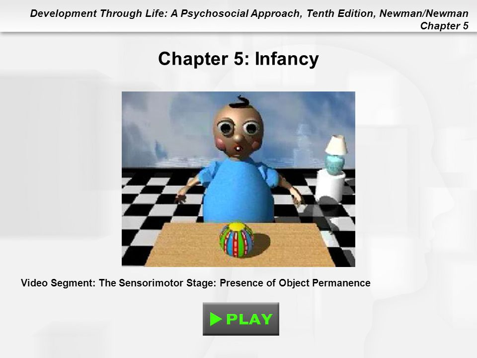 Chapter 5: Infancy Video Segment: The Sensorimotor Stage: Presence of Object Permanence