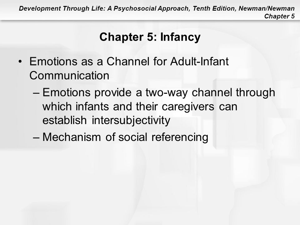 Emotions as a Channel for Adult-Infant Communication