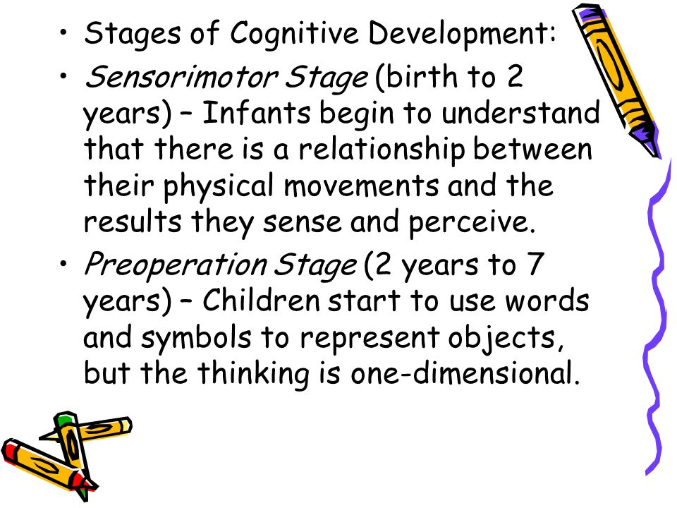 Stages of Cognitive Development: