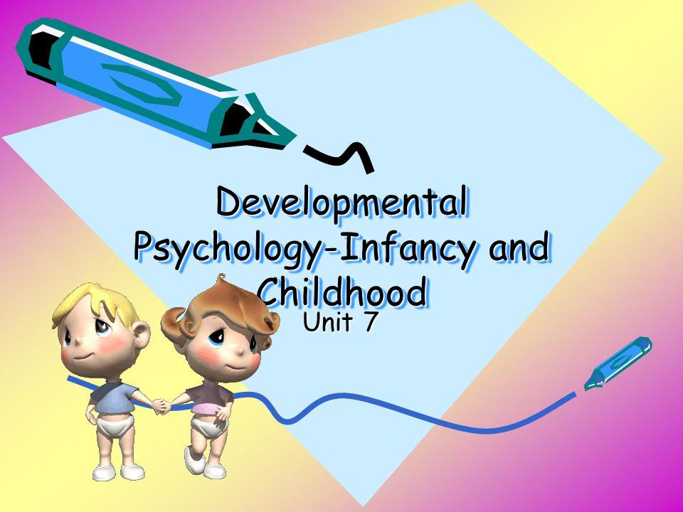 Developmental Psychology-Infancy and Childhood