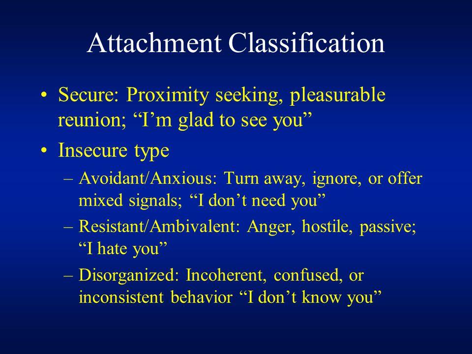 Attachment Classification