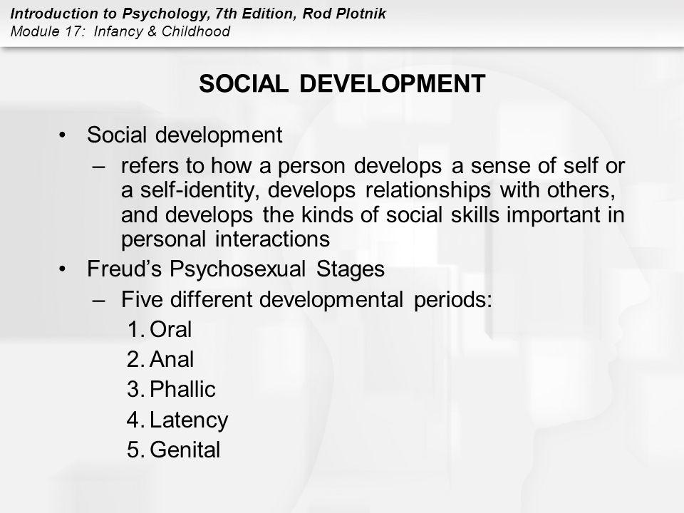 SOCIAL DEVELOPMENT Social development