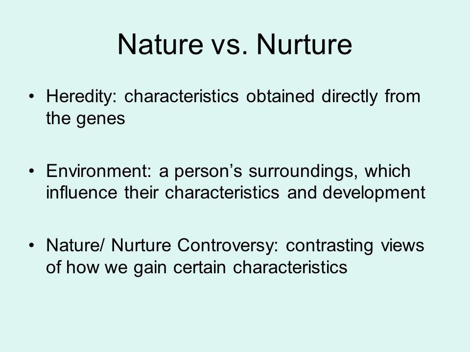 body language nature vs nurture