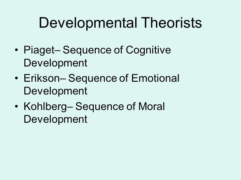 Developmental Theorists