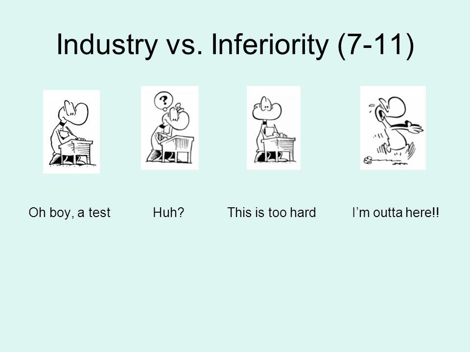 Industry vs. Inferiority (7-11)