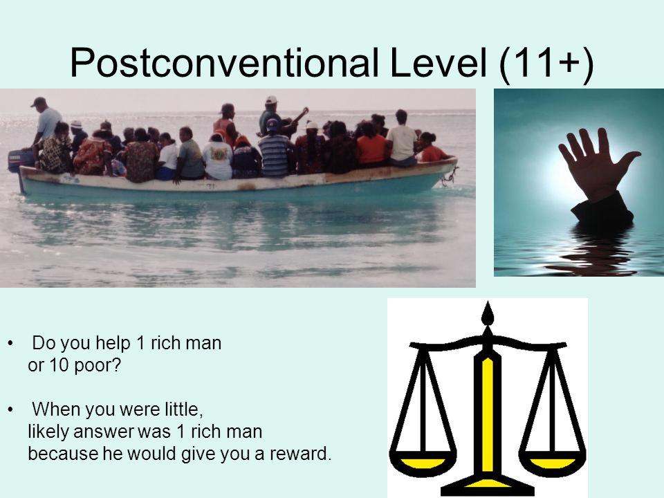 Postconventional Level (11+)
