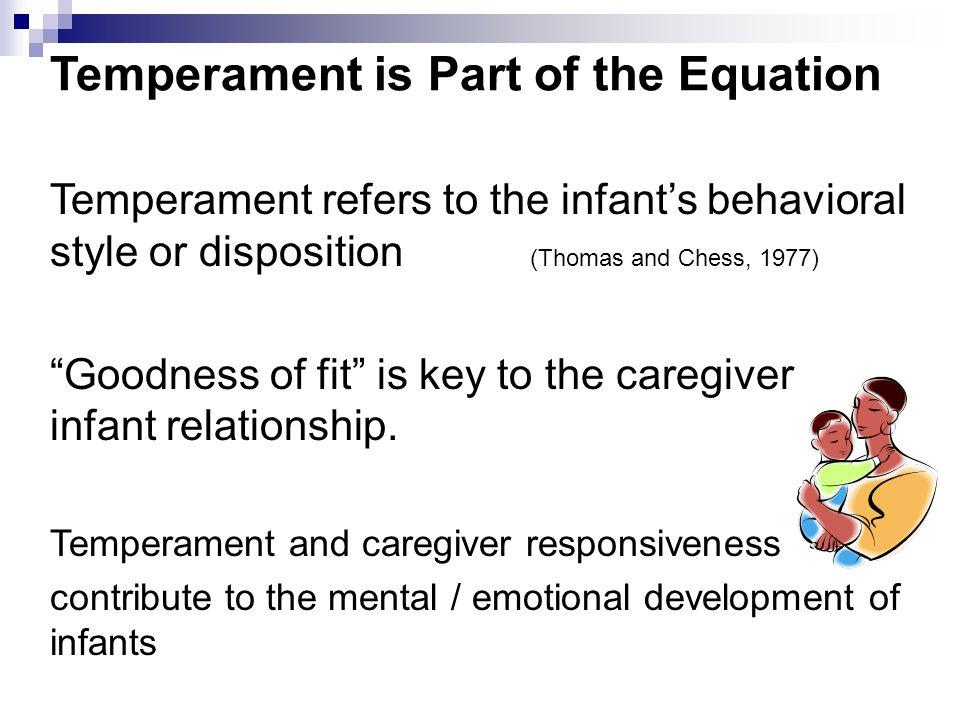 Temperament is Part of the Equation
