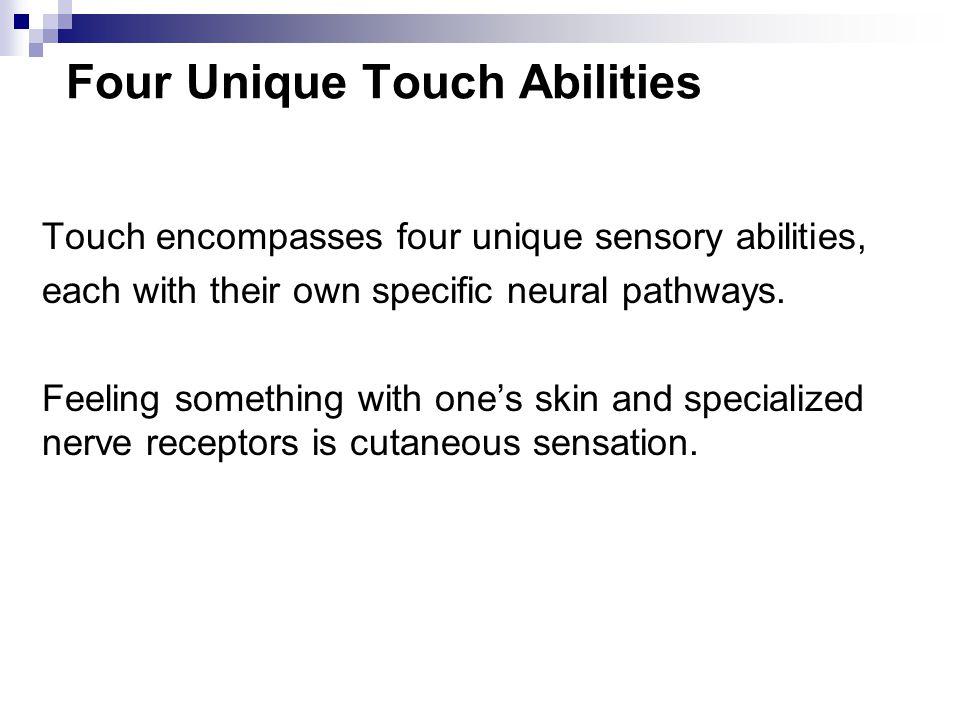 Four Unique Touch Abilities