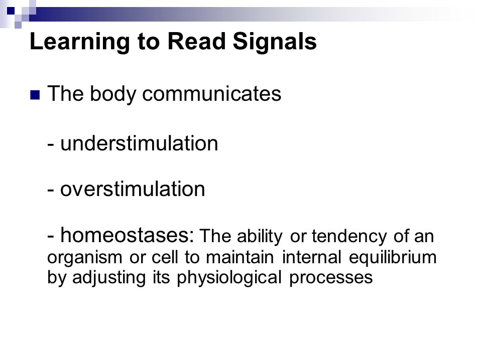 Learning to Read Signals