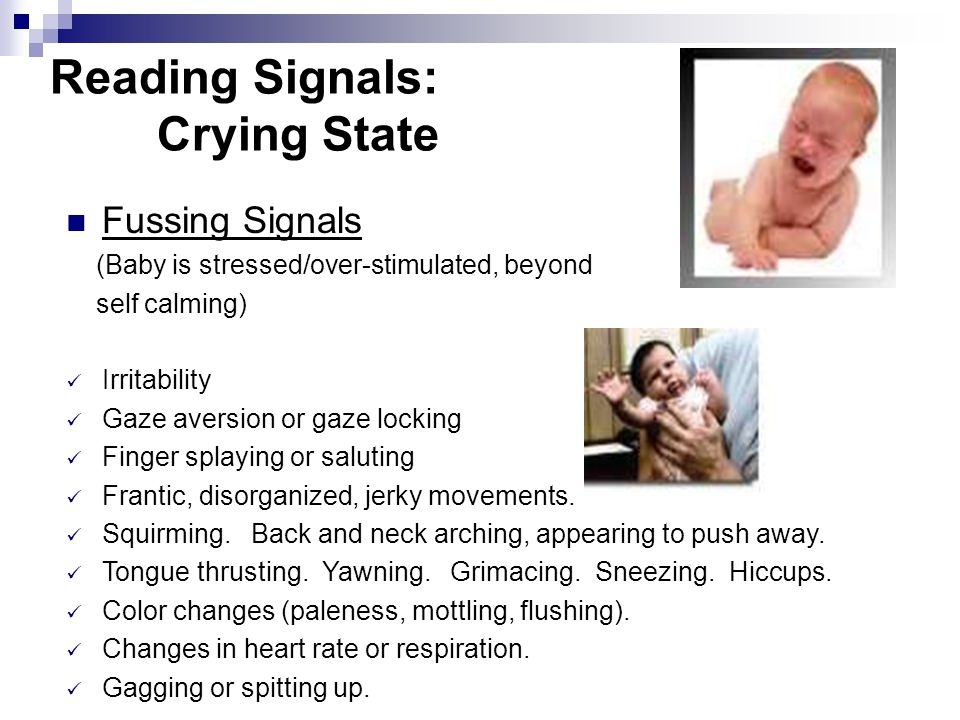 Reading Signals: Crying State