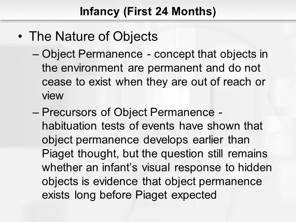 Infancy (First 24 Months)