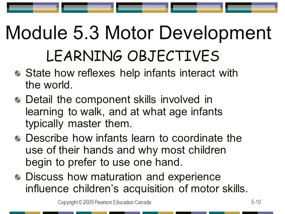 Module 5.3 Motor Development