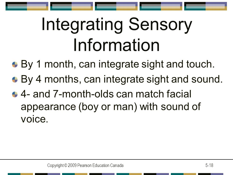 Integrating Sensory Information