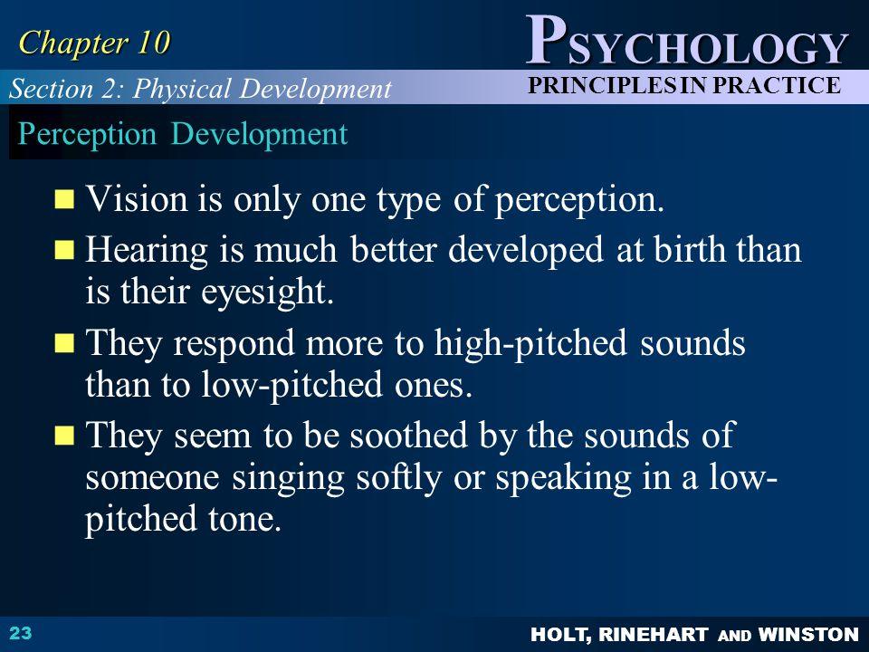 Perception Development