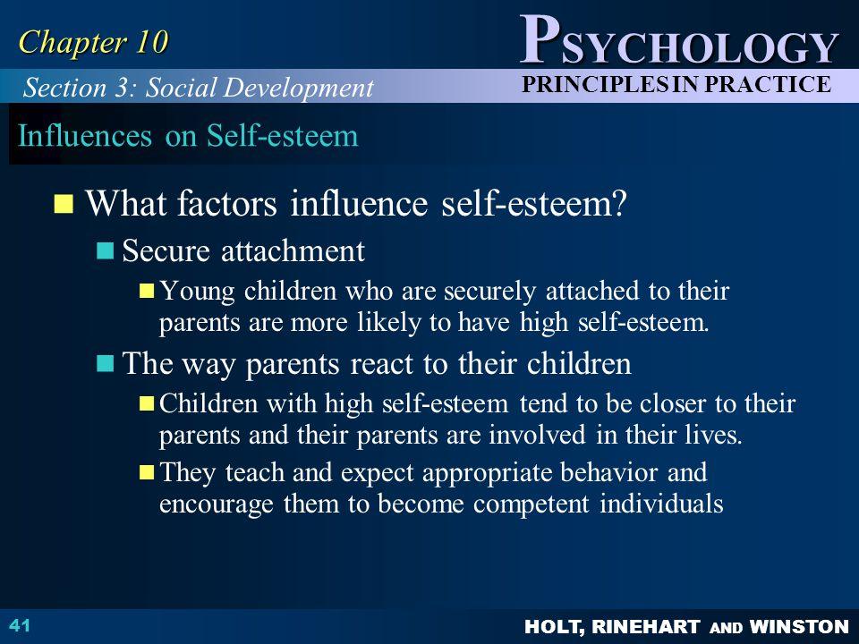 Influences on Self-esteem
