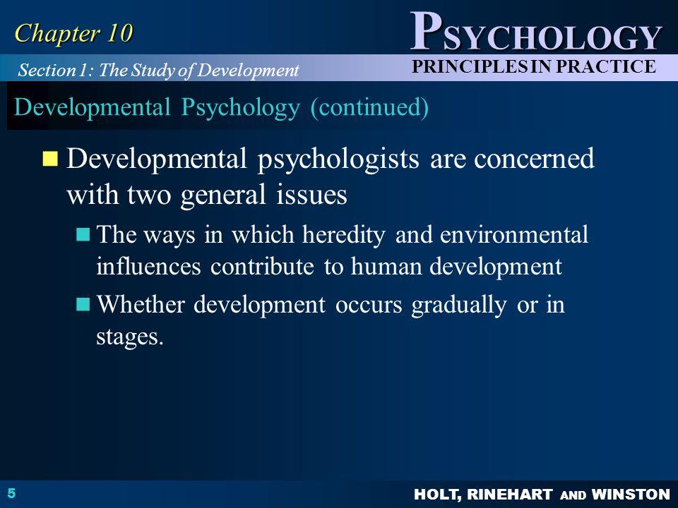 Developmental Psychology (continued)