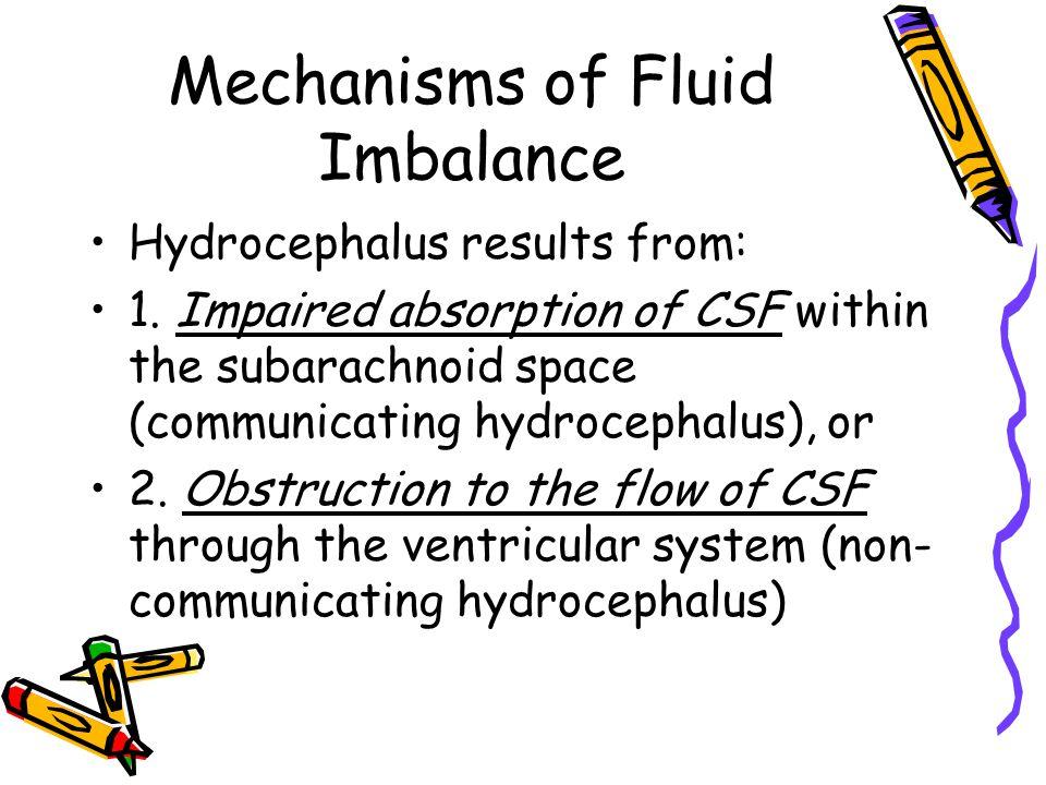 Mechanisms of Fluid Imbalance