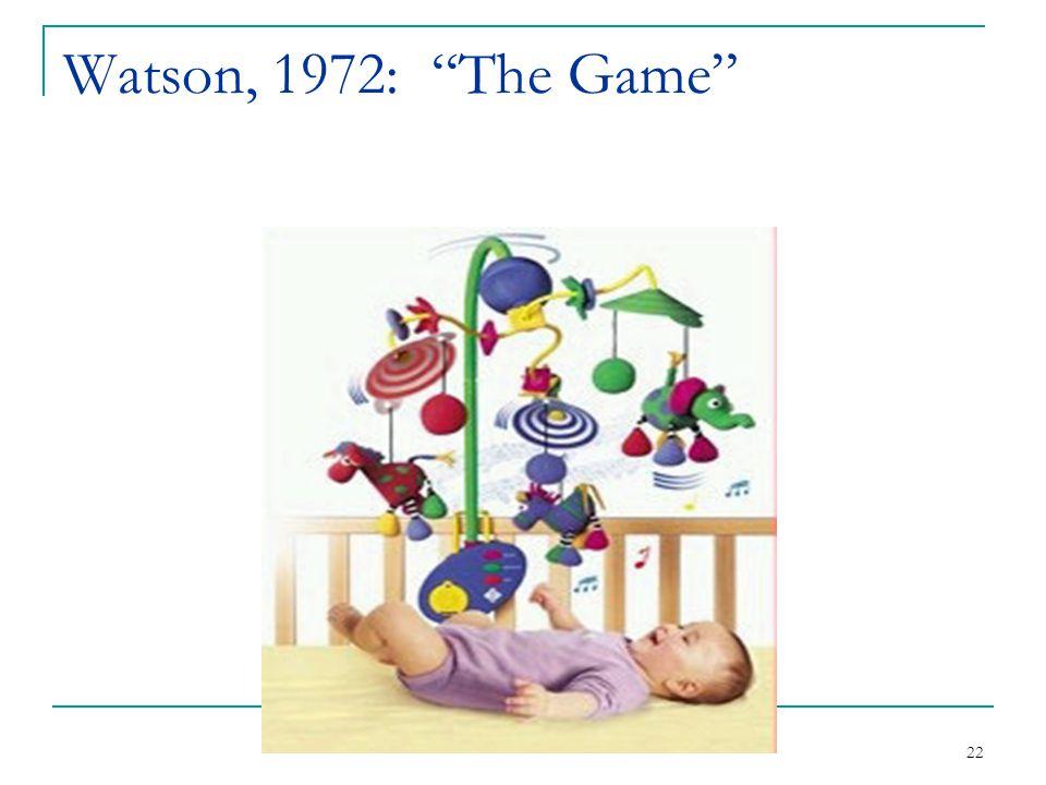 Watson, 1972: The Game