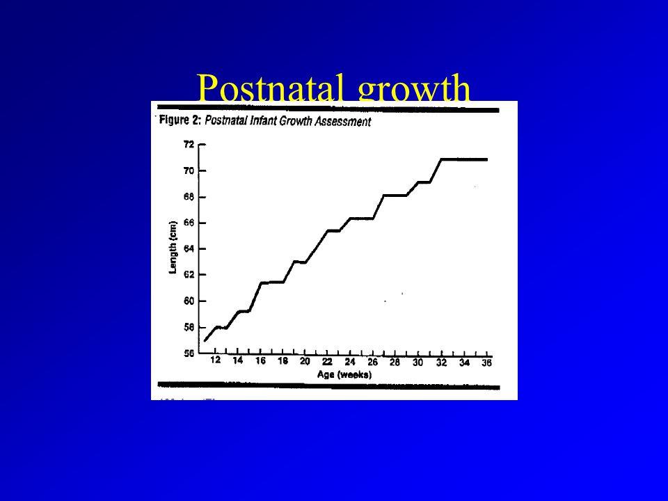Postnatal growth