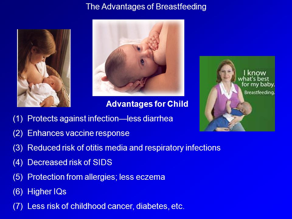 The Advantages of Breastfeeding