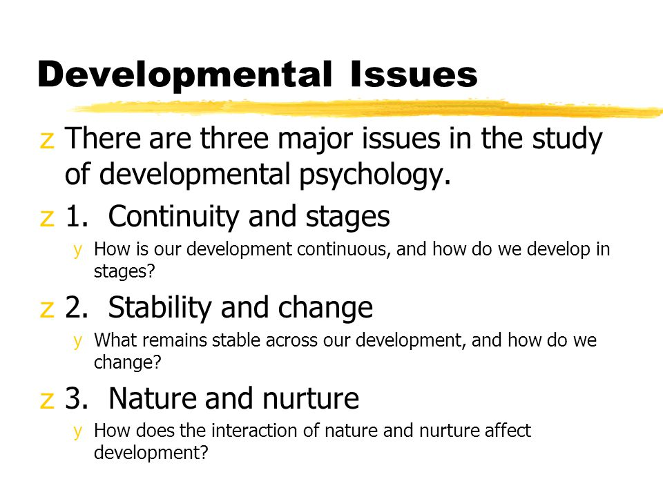 three major stages of developments of stars 2008-1-14  child psychology child psychology involves looking at the issues, stages and various influences that a child experiences throughout their development into functioning adults.