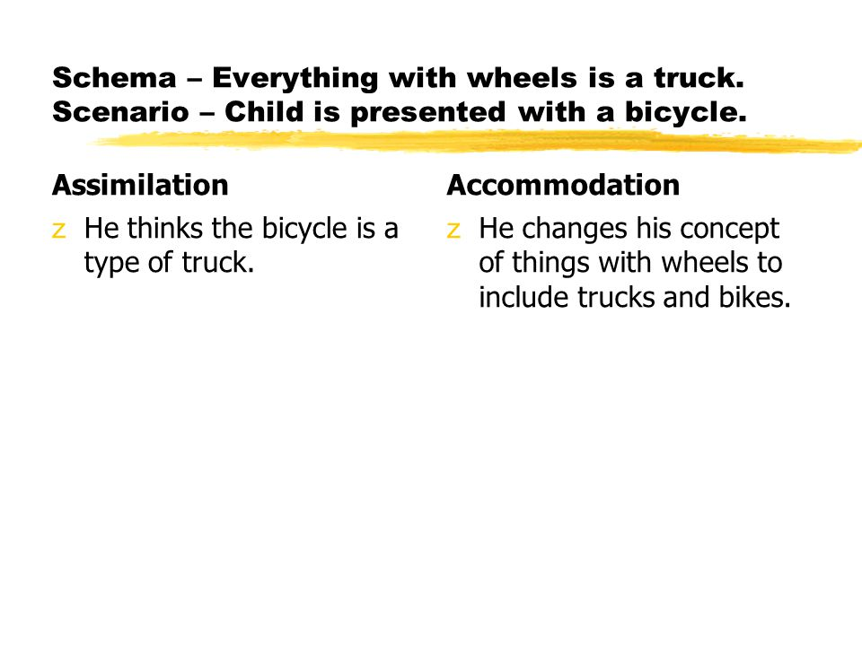 Schema – Everything with wheels is a truck