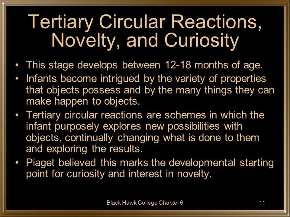 Tertiary Circular Reactions, Novelty, and Curiosity